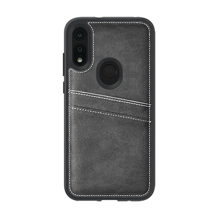 Picture of Alpha Series Case for Moto E (2020), Suede Grey