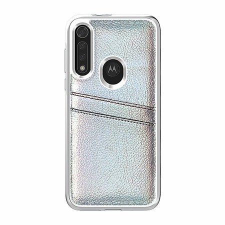 Picture of Alpha Series Case for Moto G8 Fast, Flashy White