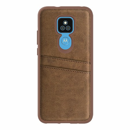 Picture of Alpha Series Case for Moto G Play, Suede Brown