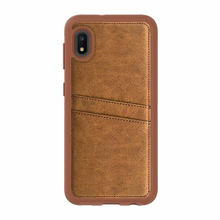 Picture of Alpha Series Case for Samsung A10e, Suede Brown