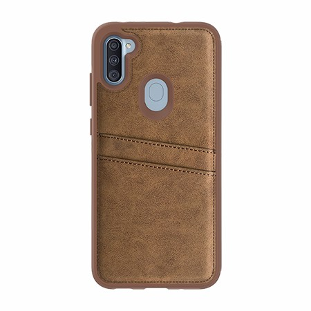 Picture of Alpha Series Case for Samsung A11, Suede Brown