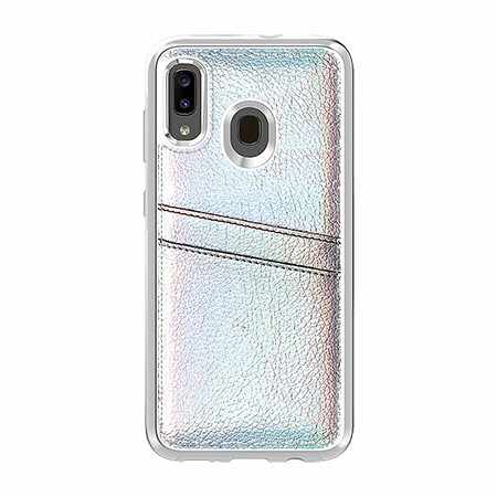 Picture of Alpha Series Case for Samsung A20, Flashy White