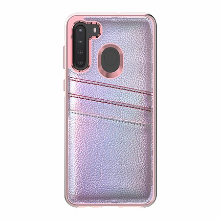 Picture of Alpha Series Case for Samsung A21, Flashy Pink