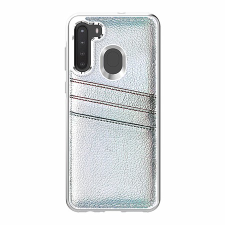 Picture of Alpha Series Case for Samsung A21, Flashy White