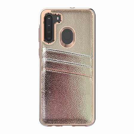 Picture of Alpha Series Case for Samsung A21, Gold