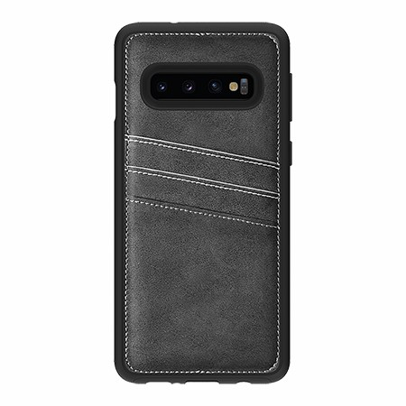 Picture of Alpha Series Case Samsung Galaxy S10, Suede Grey