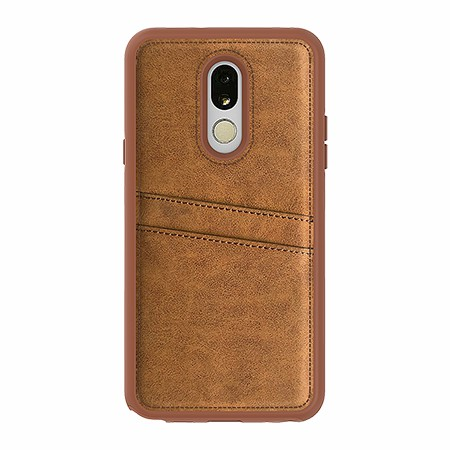 Picture of Alpha Series Case for LG Stylo 5, Suede Brown