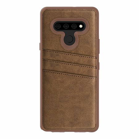 Picture of Alpha Series Case for LG Stylo 6, Suede Brown