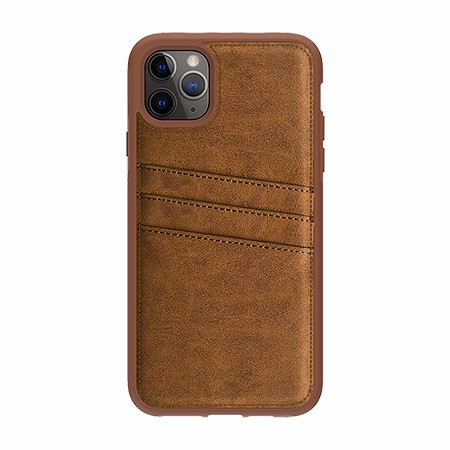 Picture of Alpha Series Case for iPhone 11 Pro Max, Suede Brown