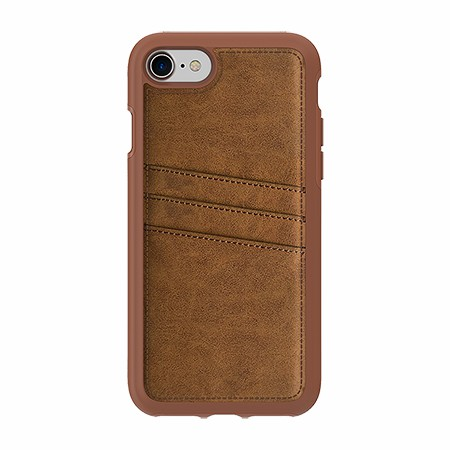 Picture of Alpha Series Case for iPhone 7/8, Suede Brown