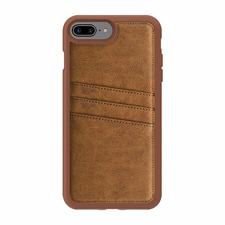 Picture of Alpha Series Case for iPhone 7/8 Plus, Suede Brown