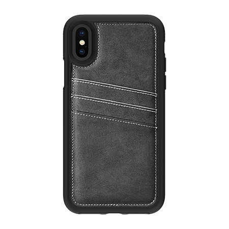 Picture of Alpha Series Case for iPhone X/Xs, Suede Grey