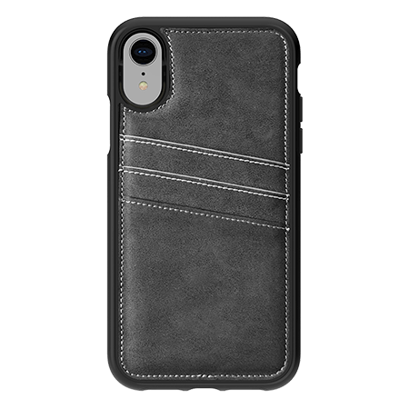 Picture of Alpha Series Case for iPhone XR, Suede Grey