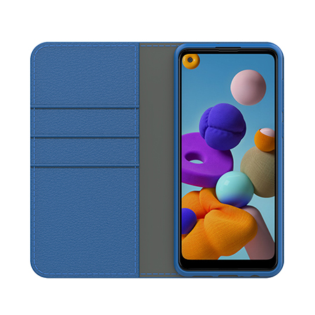 Picture of Folio Series Case for Samsung A21, Blue