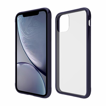 Picture of Glass Series Case for iPhone 11 Pro, Dark Blue
