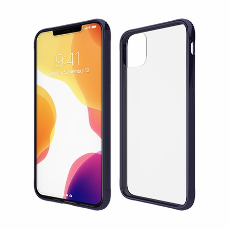Picture of Glass Series Case for iPhone 11 Pro Max, Dark Blue