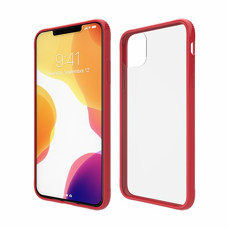 Picture of Glass Series Case for iPhone 11 Pro Max, Red