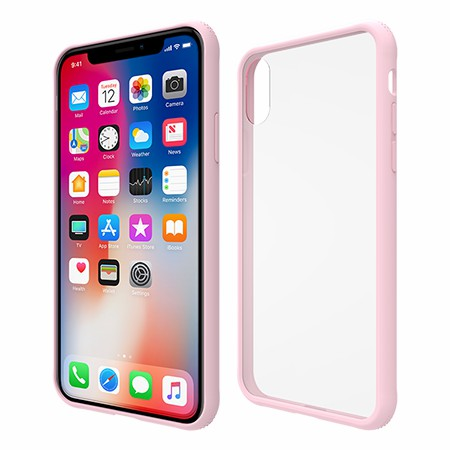 Picture of Glass Series Case for iPhone X/Xs, Pink