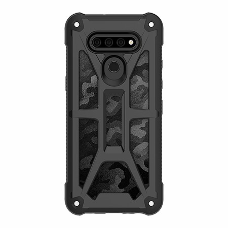 Picture of Supreme Armor Case for LG K51, Black Camo