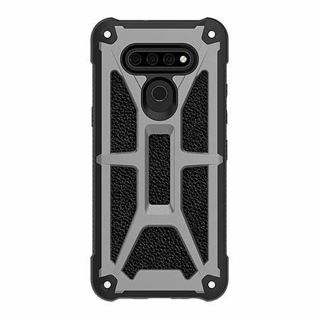 Picture of Supreme Armor Case for LG K51, Granite Black