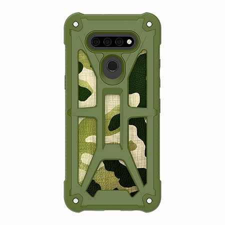 Picture of Supreme Armor Case for LG K51, Green Camo