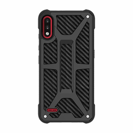 Picture of Supreme Armor Case for LG K22, Black Carbon