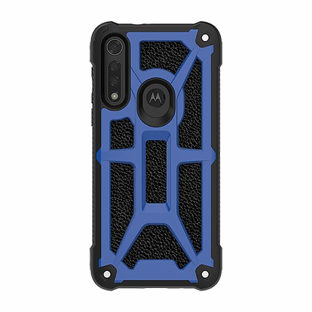 Picture of Supreme Armor Case for Moto G8 Fast, Blue