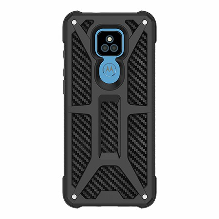 Picture of Supreme Armor Case for Moto G Play, Black Carbon