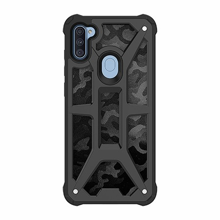 Picture of Supreme Armor Case for Samsung A11, Black Camo
