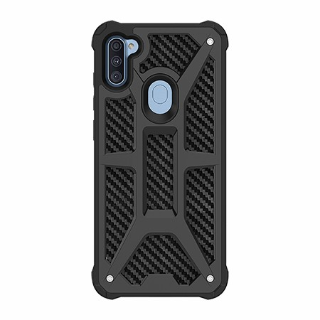 Picture of Supreme Armor Case for Samsung A11, Black Carbon