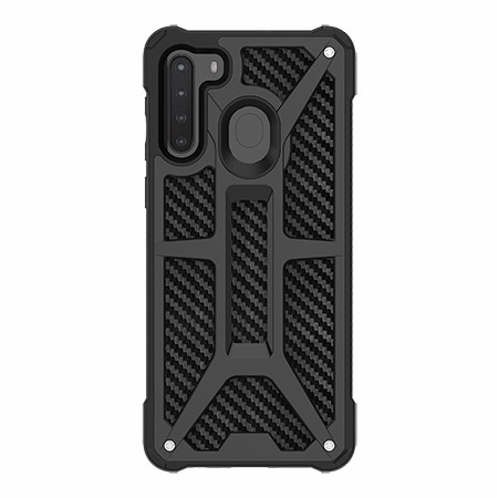 Picture of Supreme Armor Case for Samsung A21, Black Carbon