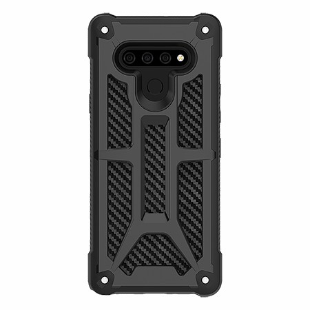 Picture of Supreme Armor Case for LG Stylo 6, Black Carbon