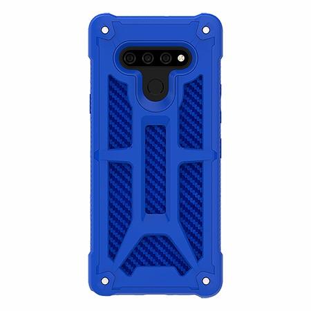 Picture of Supreme Armor Case for LG Stylo 6, Blue Carbon