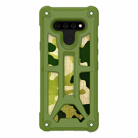 Picture of Supreme Armor Case for LG Stylo 6, Green Camo