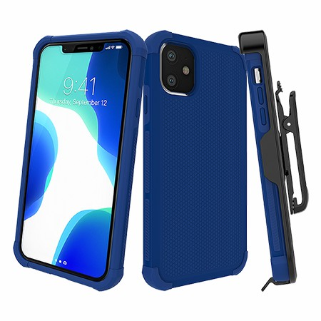 Picture of Secure Impact w Holster for iPhone 11, Blue