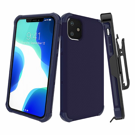 Picture of Secure Impact w Holster for iPhone 11, Dark Blue