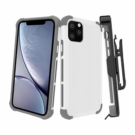 Picture of Secure Impact w Holster for iPhone 11 Pro, White