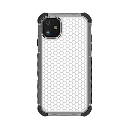 Picture of Secure Impact Case for iPhone 11, Clear Black