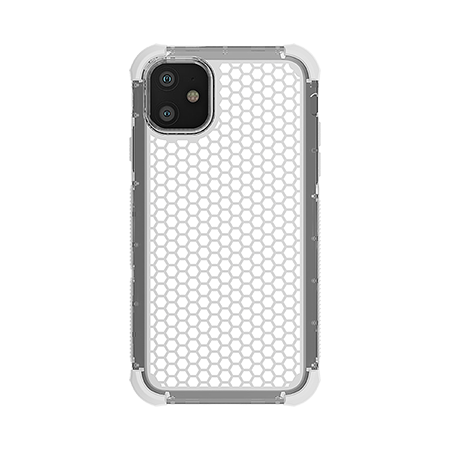 Picture of Secure Impact Case for iPhone 11, Clear White