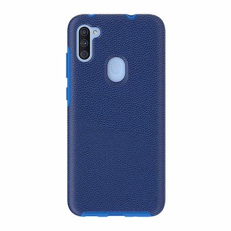 Picture of Supreme Leather Case for Samsung A11, Blue