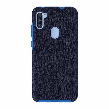 Picture of Supreme Leather Case for Samsung A11, Dark Blue