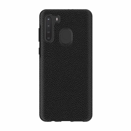 Picture of Supreme Leather Case for Samsung A21, Black