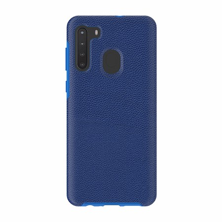 Picture of Supreme Leather Case for Samsung A21, Blue
