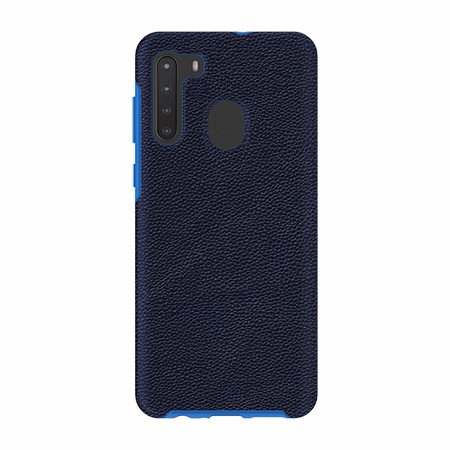 Picture of Supreme Leather Case for Samsung A21, Dark Blue