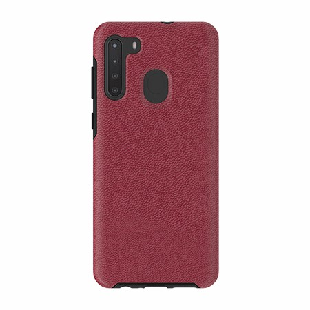 Picture of Supreme Leather Case for Samsung A21, Red