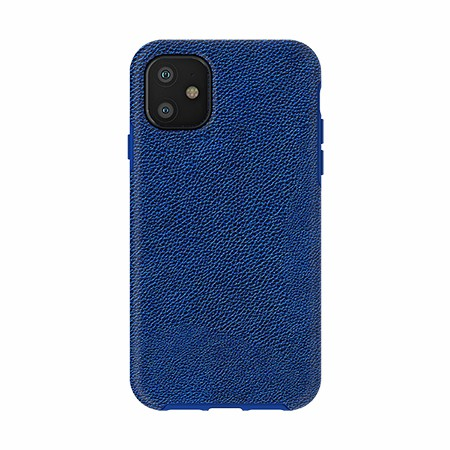Picture of Supreme Leather Case for iPhone 11, Navy Blue