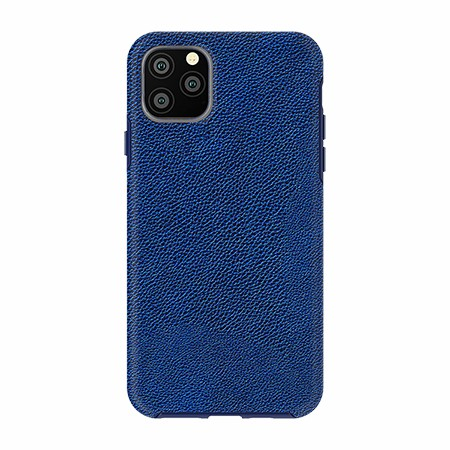 Picture of Supreme Leather Case iPhone 11 Pro Max,NavyBlue