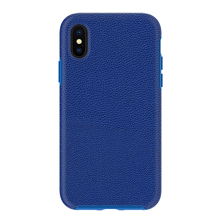 Picture of Supreme Leather Case for iPhone X/Xs, Blue