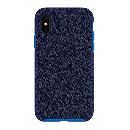 Picture of Supreme Leather Case for iPhone X/Xs, Dark Blue