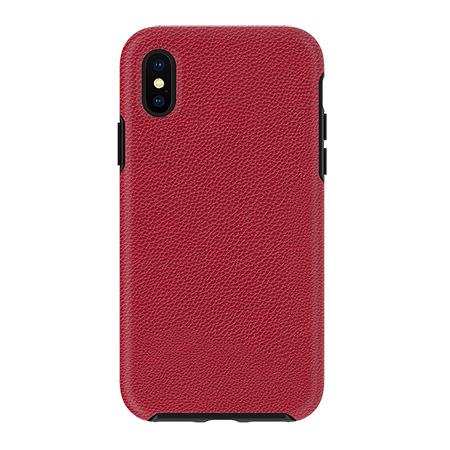 Picture of Supreme Leather Case for iPhone X/Xs, Red